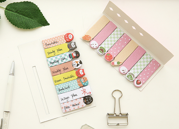 Kawaii Japanese Index Sticky Note Set 5