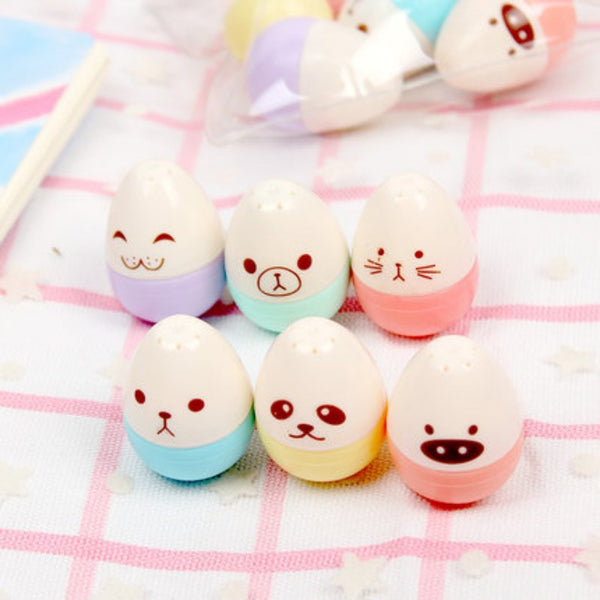 Kawaii Mini Egg Highlighter 6-pack 3