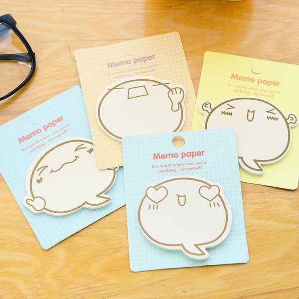 Speaking Bubble Sticky Notes