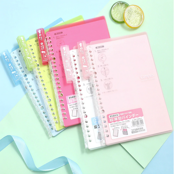 KOKUYO Campus Smart Ring Binder Notebook - B5 - 25 Sheets