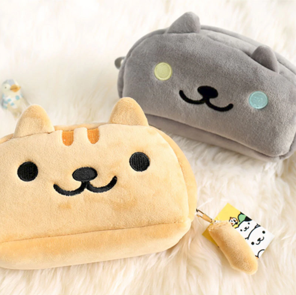 Nyanko Cat Plush Pencil Case