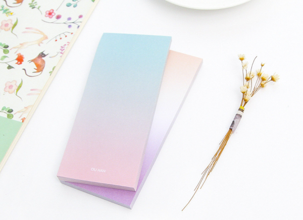 Ombre Sticky Note Pad 11