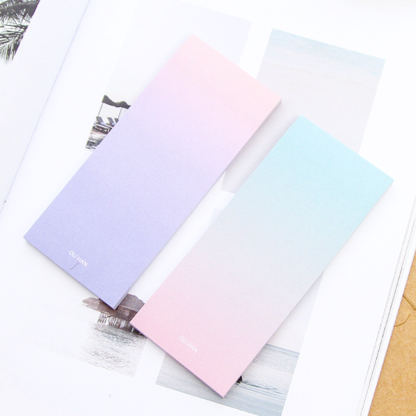 Ombre Sticky Note Pad