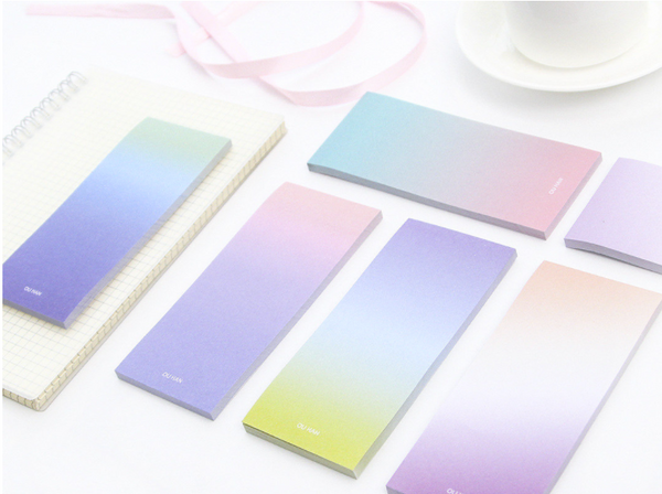 Ombre Sticky Note Pad 5