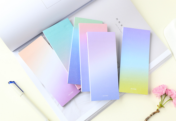 Ombre Sticky Note Pad 8