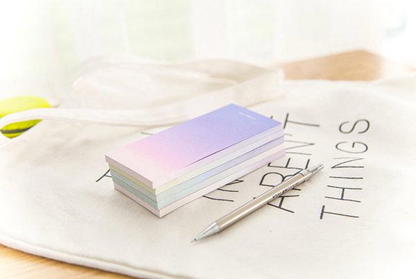 Ombre Sticky Note Pad 9