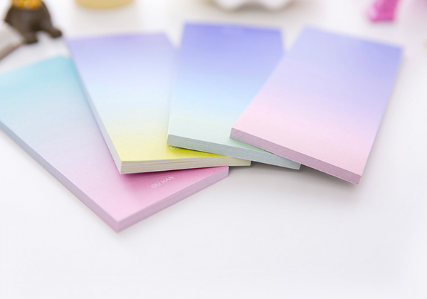 Ombre Sticky Note Pad 14