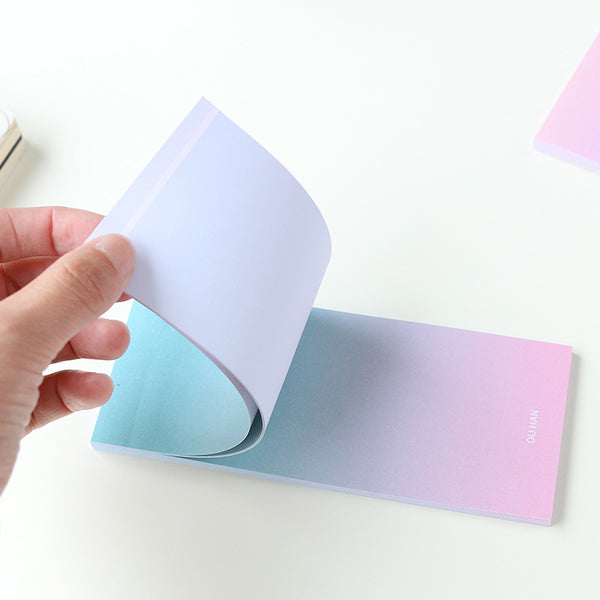Ombre Sticky Note Pad 10