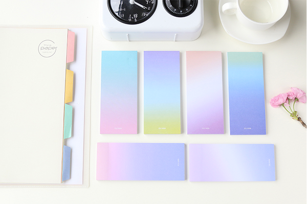 Ombre Sticky Note Pad 13