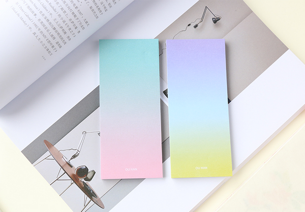 Ombre Sticky Note Pad 6