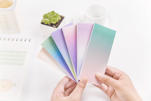 Ombre Sticky Note Pad 2