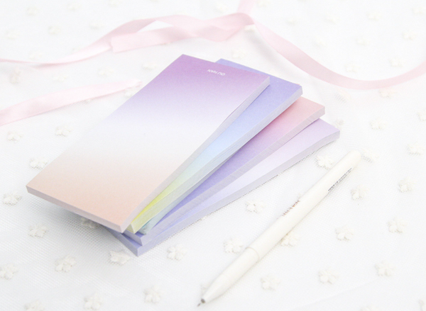 Ombre Sticky Note Pad 3