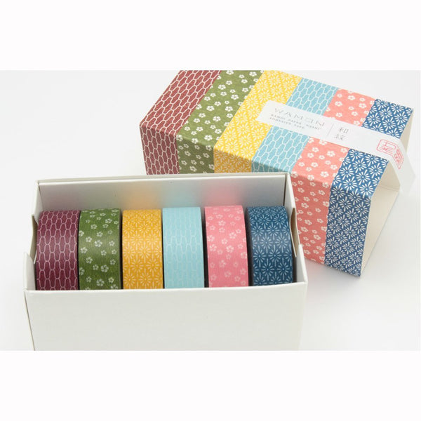 MT Masking Tape Boxed Set of 6 - WAMON 3