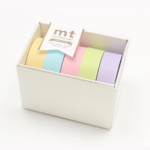 MT Masking Tape Gift Box - 5 Pastel Colors