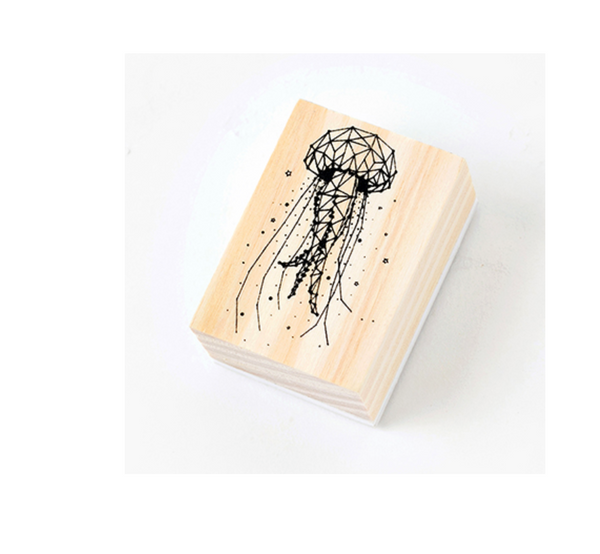 Magical Universe Wooden Stamp