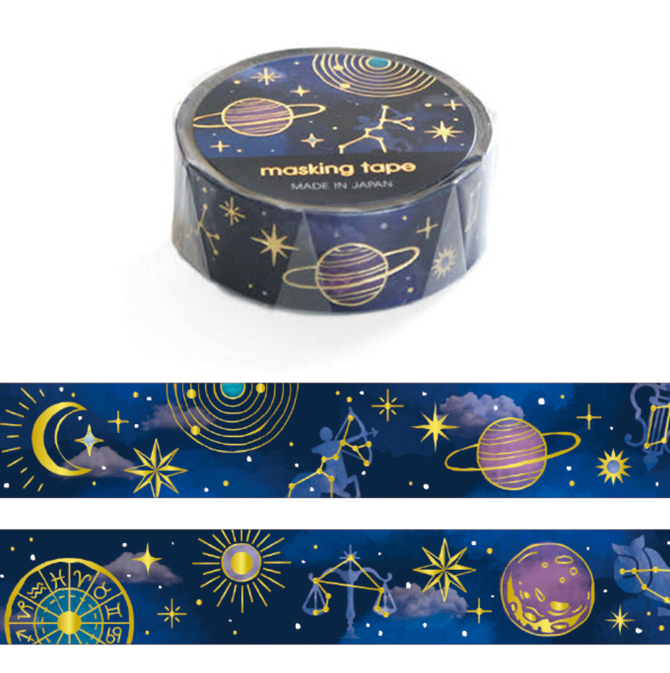 Mind Wave Masking Tape - Astronomy