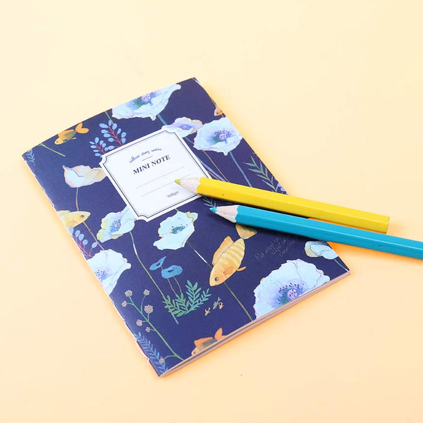 Mini Floral Notebook 6