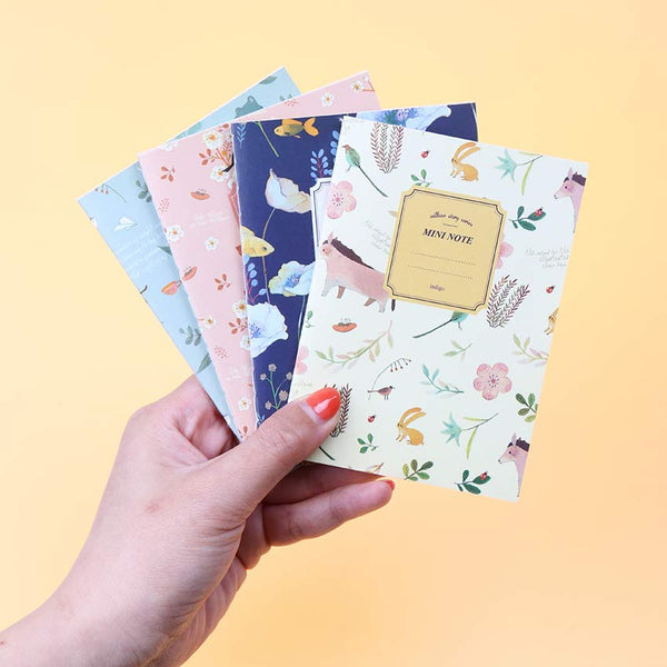 Mini Floral Notebook 7