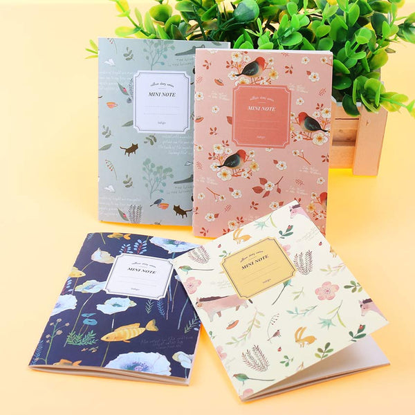 Mini Floral Notebook 8
