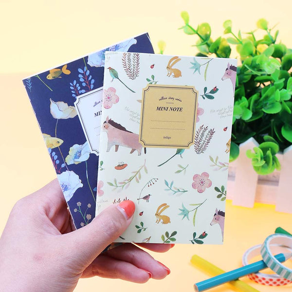 Mini Floral Notebook 4