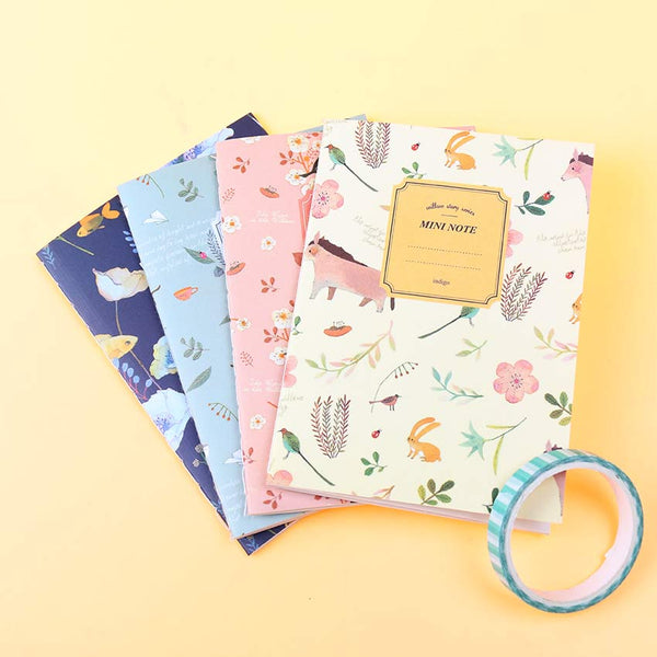 Mini Floral Notebook 2