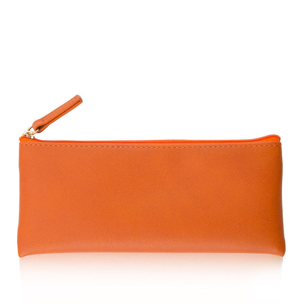 Minimal Design Leather Pencil Case 11
