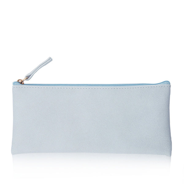 Minimal Design Leather Pencil Case 10