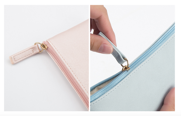 Minimal Design Leather Pencil Case 6