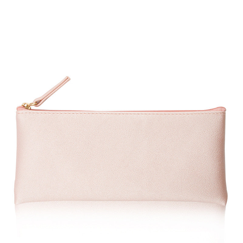 Minimal Design Leather Pencil Case 9