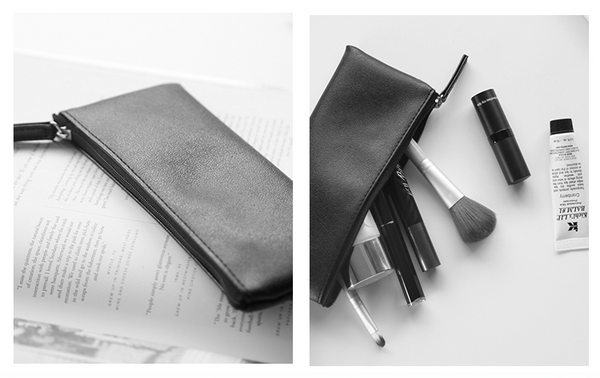 Minimal Design Leather Pencil Case 7