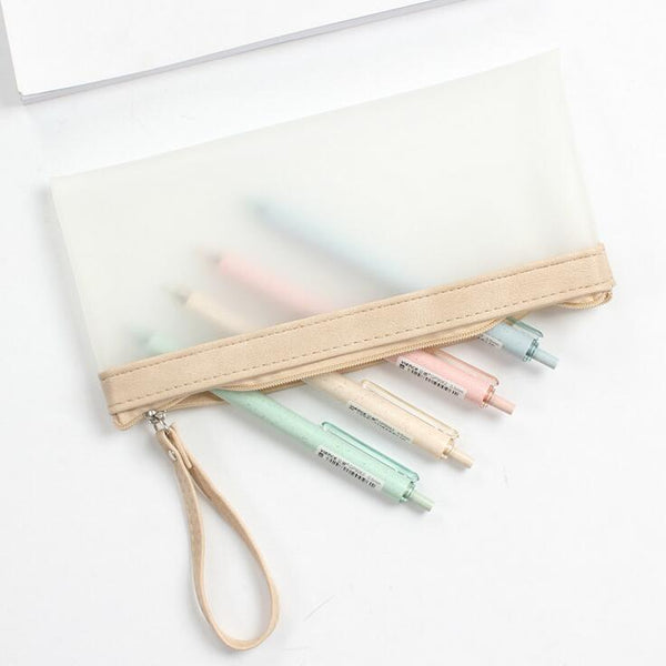 Simple Life Translucent Pencil Case 2
