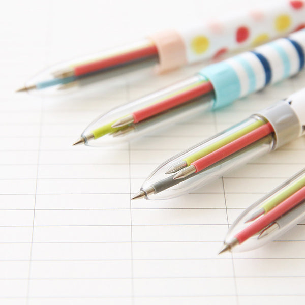 Multicolor Ballpoint Pen 4-pack 3