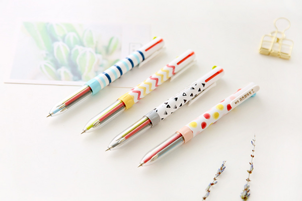 Multicolor Ballpoint Pen 4-pack 4