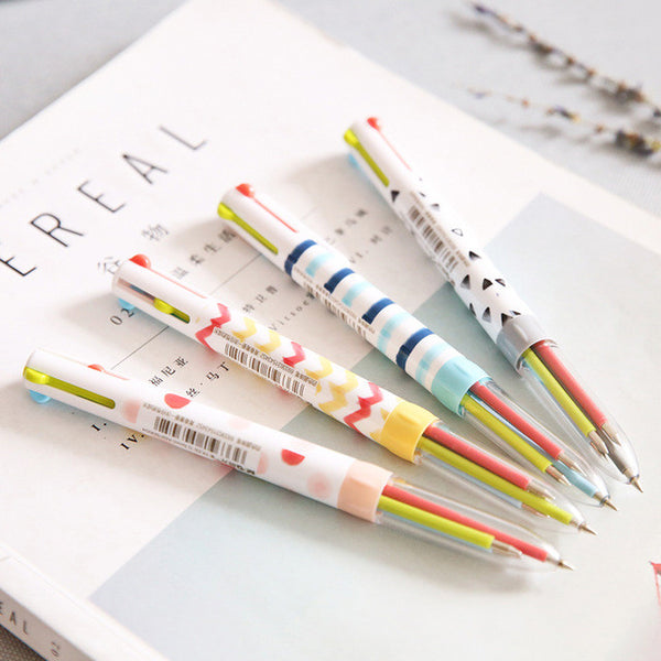 Multicolor Ballpoint Pen 4-pack 2