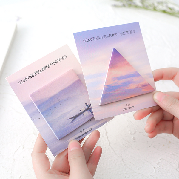 Natural Landscape Sticky Notes