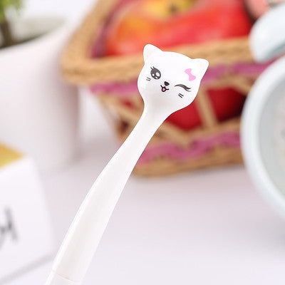 Japanese Cartoon Cat Gel Pen