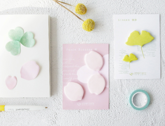 Petal & Leaf Sticky Notes 7