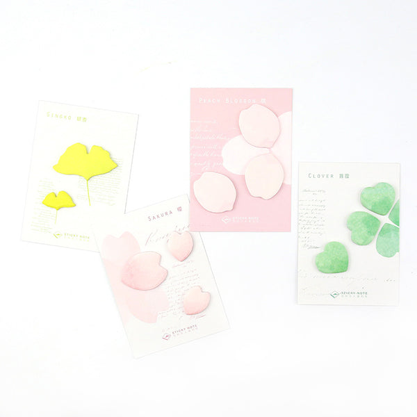 Petal & Leaf Sticky Notes 8