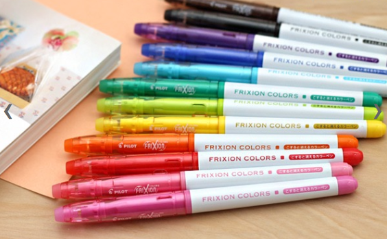 Pilot Frixion Colors Erasable Marker 12 Color Set 3