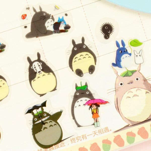 My Neighbor Totoro Plastic Stickers 5