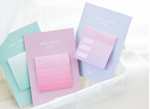 Rainbow Color Sticky Notes 6