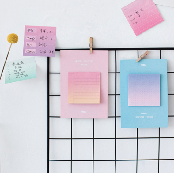 Rainbow Color Sticky Notes 7