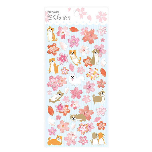Spring Cherry Blossom Floral Stickers 8