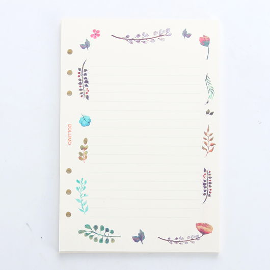 Creative Design Filler Paper