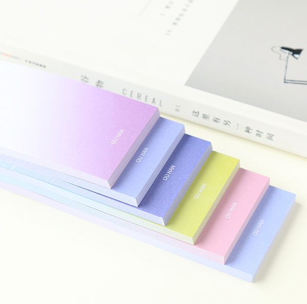 Ombre Sticky Note Pad 7