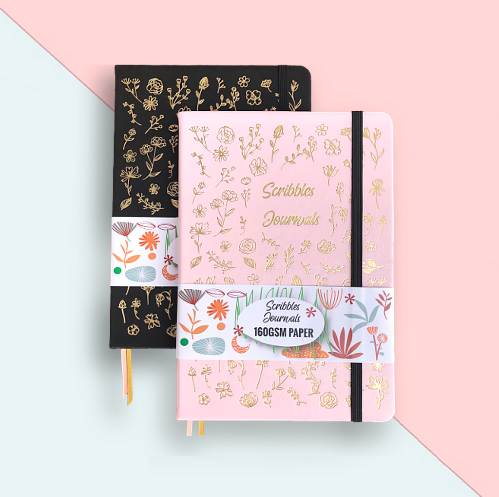 Scribbles Journal Dotted Notebook