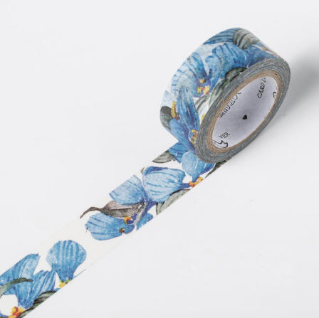 Shades of Blue Washi Tape 5