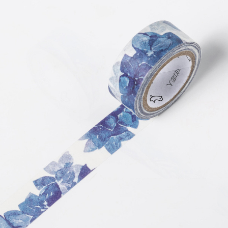 Shades of Blue Washi Tape 3