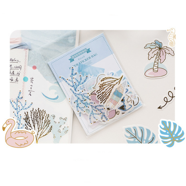 Simno Paper Stickers - Summer Vacay