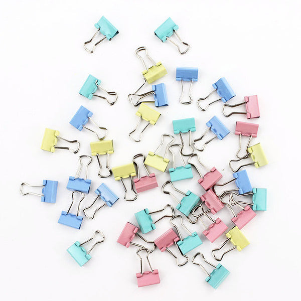 Mini Candy Color Binder Clips 15-pack 3